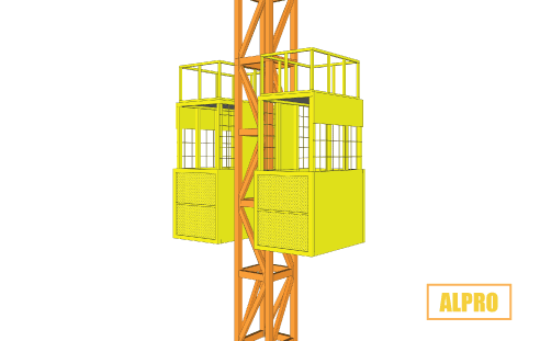 sewa lift barang double cabin di alatproyek.co.id